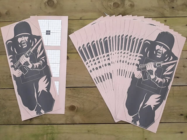 Newhaven Sports Image of shooting targets